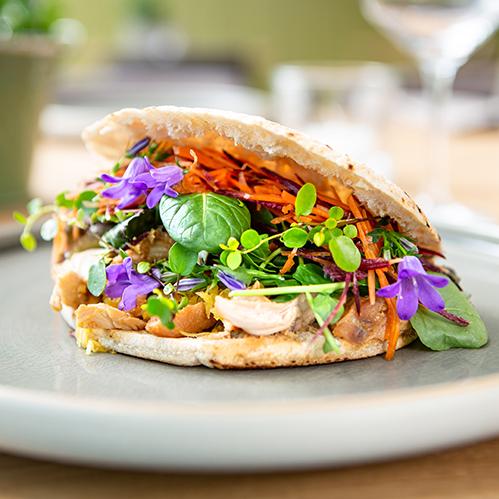 Wingert Restaurant Ingelheim Sandwich Teriyaki