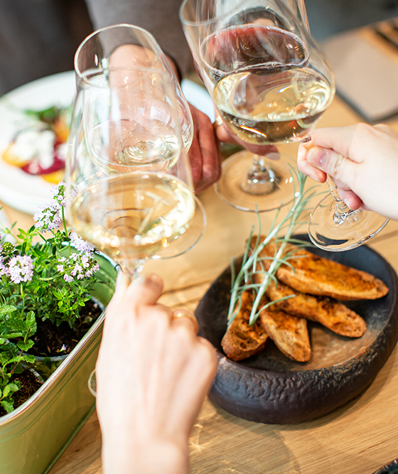 Wingert Restaurant Ingelheim Wein